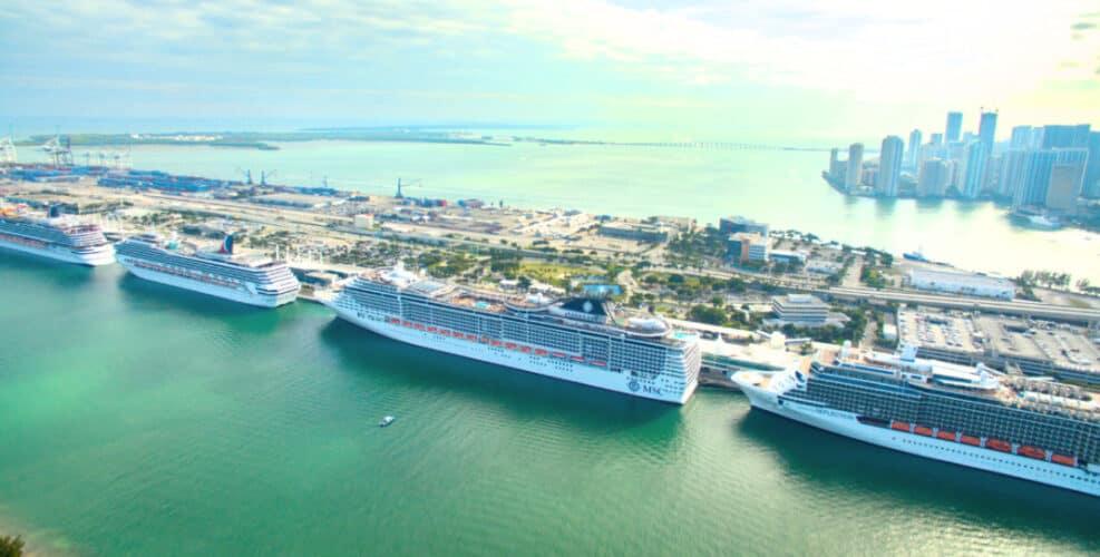 PortMiami Cruise Ships, Florida