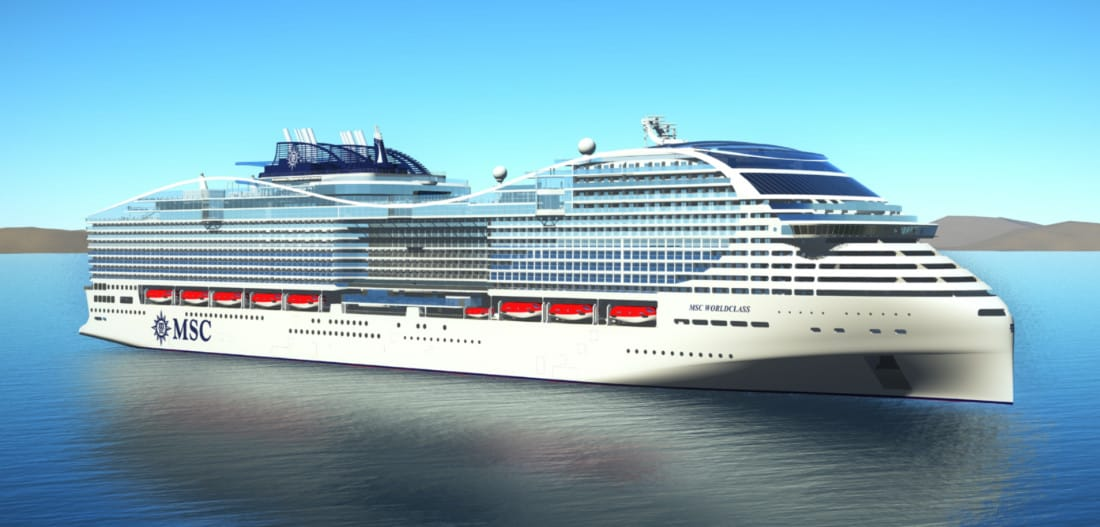 MSC World Class Cruise Ship