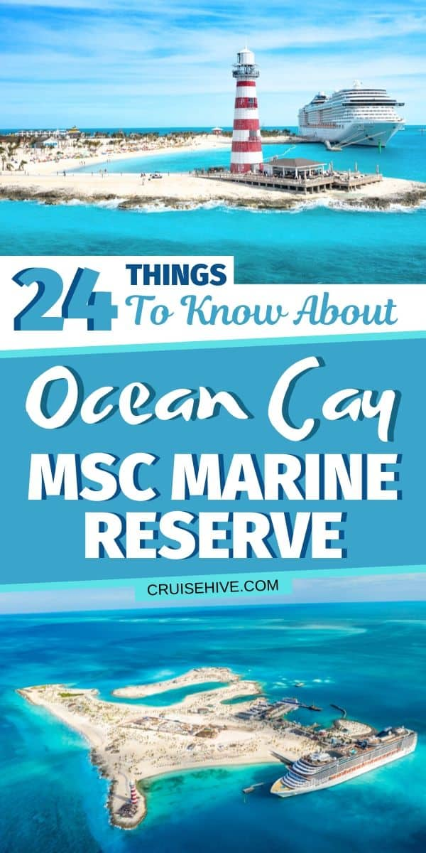 Ocean Cay MSC Marine Reserve, Bahamas