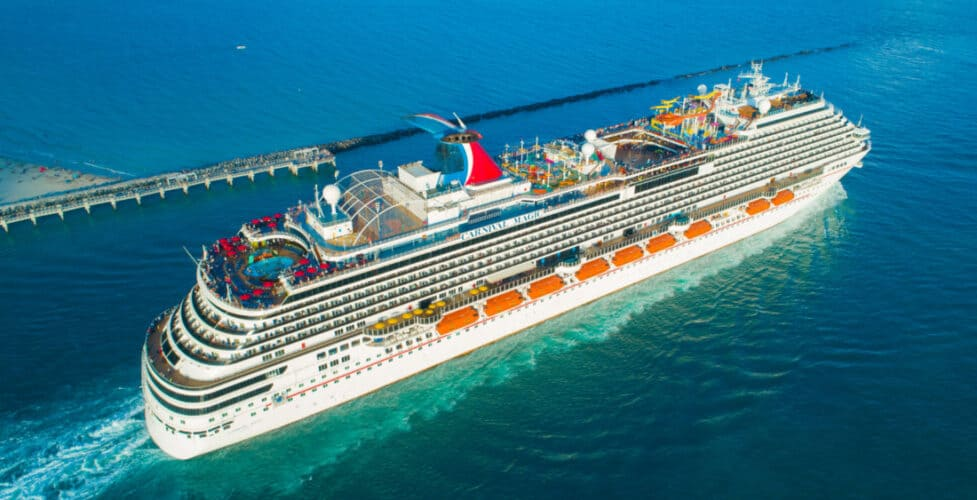 Carnival Magic Cruise Ship in Florida