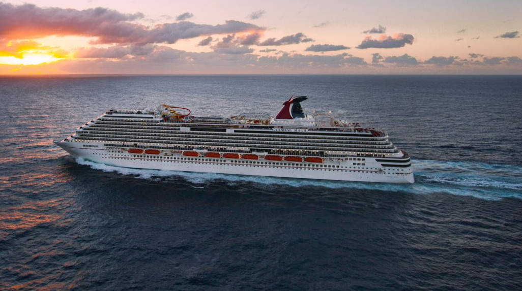 Carnival Magic at Sea