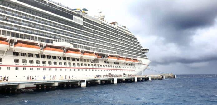 Carnival Dream Cruise Ship in Port