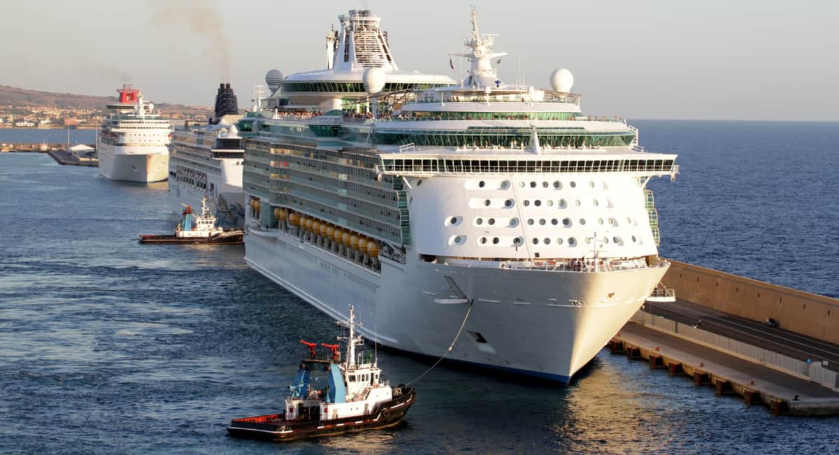 Cruise Ships in Italy