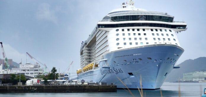 Quantum of the Seas Cruise Ship in Japan