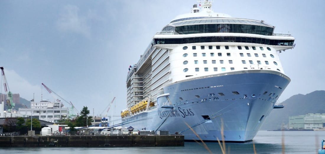 Quantum of the Seas Cruise Ship in Japan