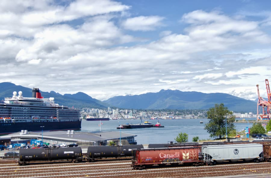 Trains in Vancouver