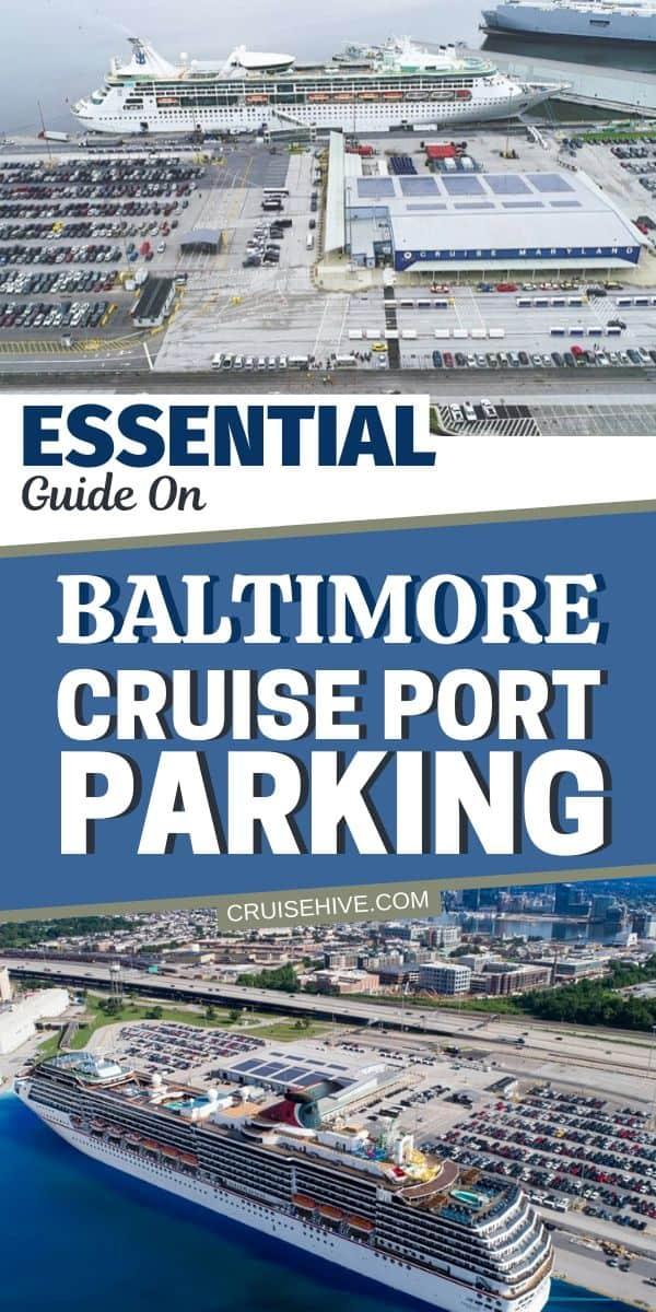 Baltimore Cruise Parking