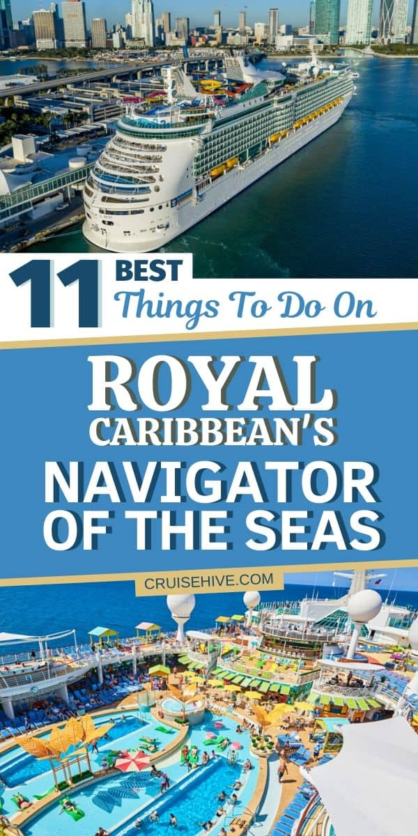 Royal Caribbean's Navigator of the Seas Cruise Ship