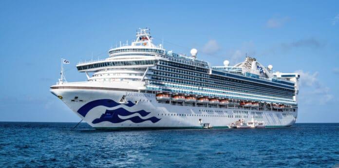 Caribbean Princess Cruise Ship