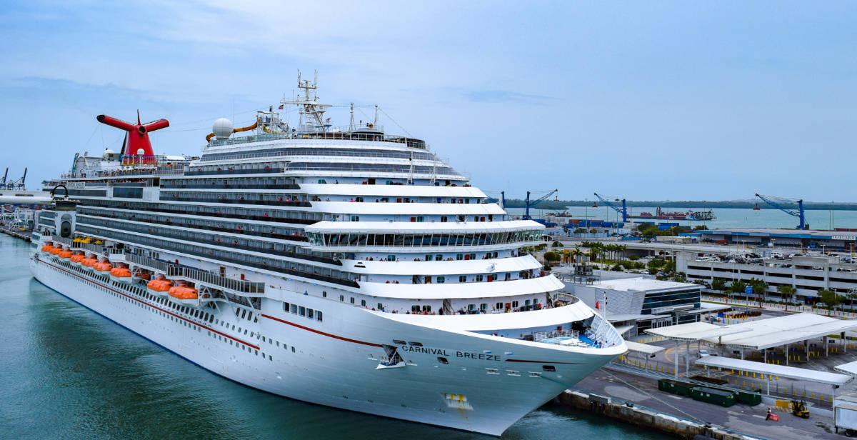 Carnival Cruise Ship in Miami