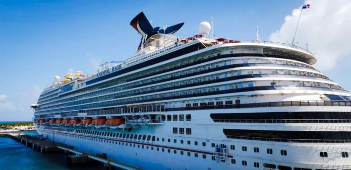 Carnival Magic Docked in Grand Turk