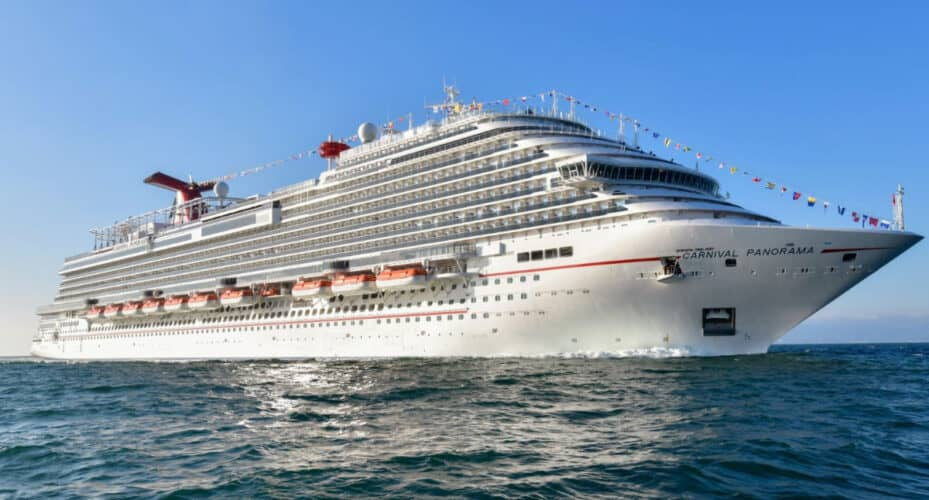 Carnival Panorama Cruise Ship
