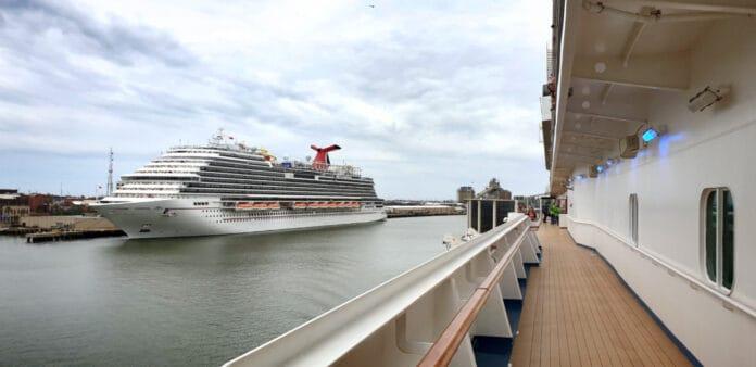 Carnival Vista Docked at Port of Galveston