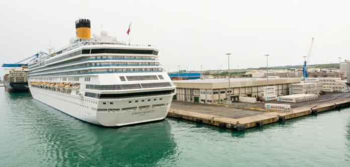 Costa Cruise Ship in Italy