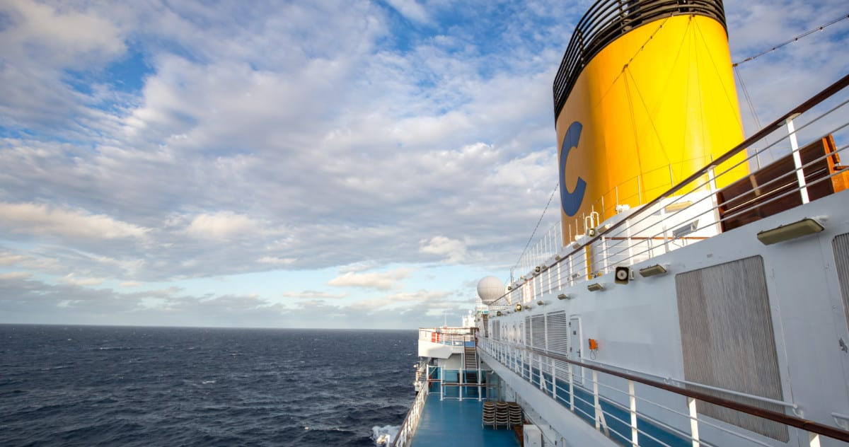 Costa Cruises Funnel