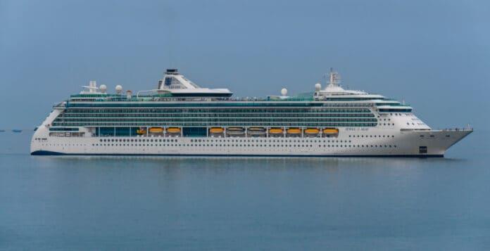 Jewel of the Seas Cruise Ship in Dubai