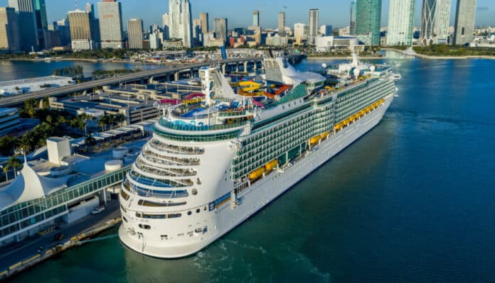 Royal Caribbean's Navigator of the Seas Cruise Ship