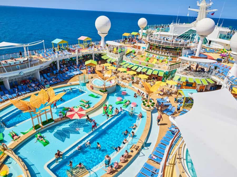 Navigator of the Seas Main Pool