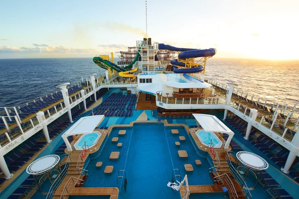 AquaPark on Norwegian Escape Cruise Ship