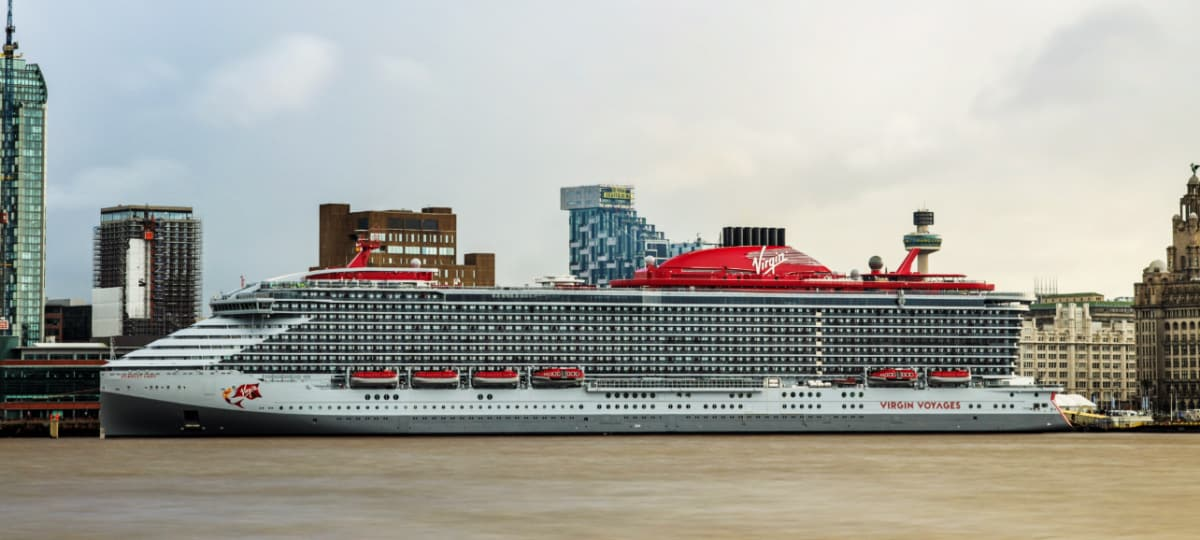 Scarlet Lady Cruise Ship in UK