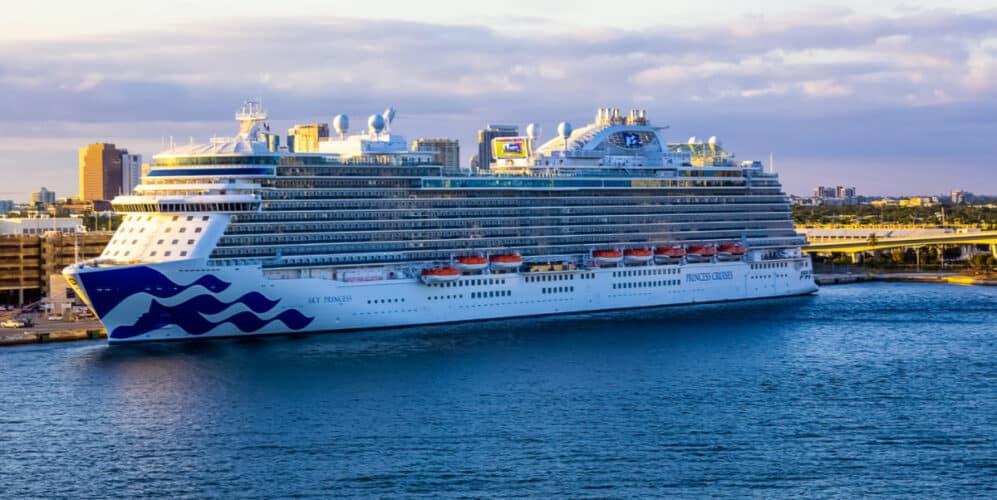 Sky Princess Cruise Ship in Florida