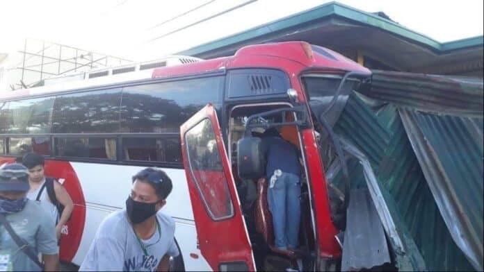 Crew Member Bus Accident