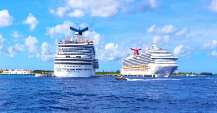 Carnival Cruise Ships Docked in Cozumel