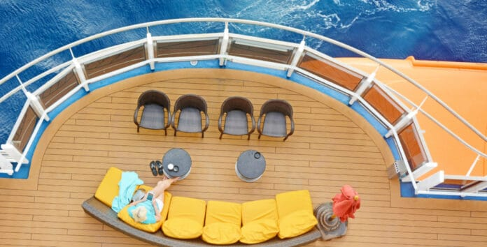 Reading on a Cruise Ship