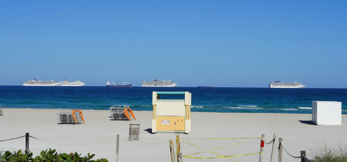 Cruise Ships Off Florida