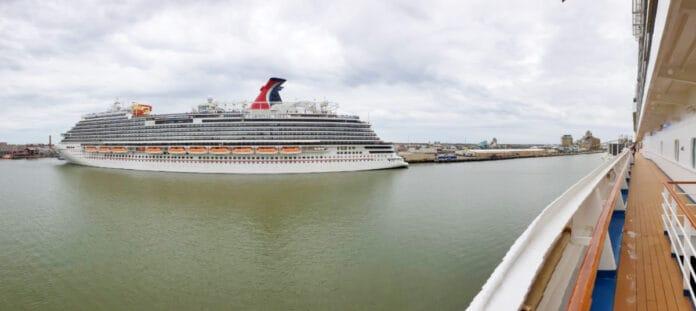 Carnival Ships in Port of Galveston