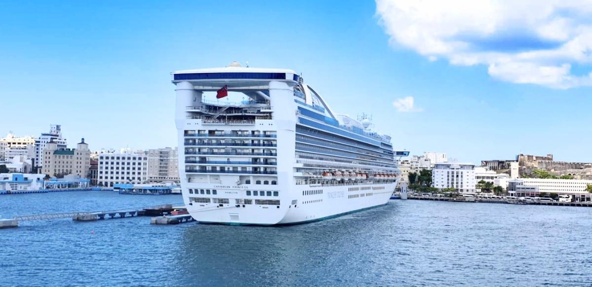 Princess Cruise Ship Docked in San Juan