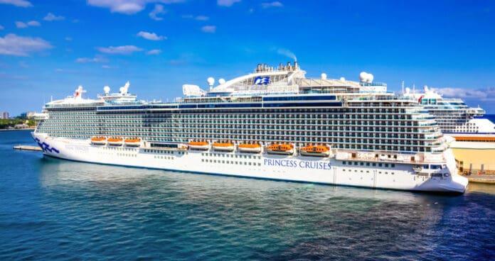 Princess Cruise Ship Docked in Florida