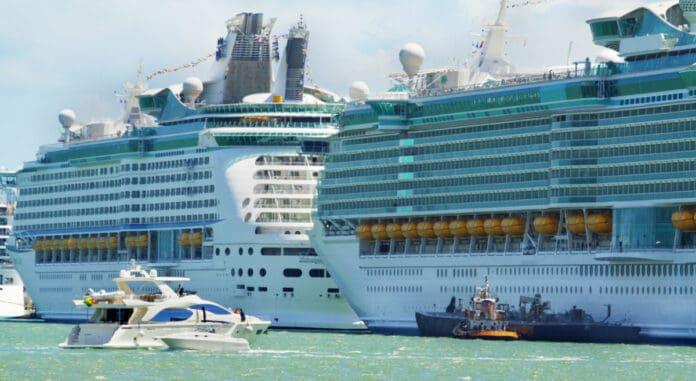 Docked Royal Caribbean Ships