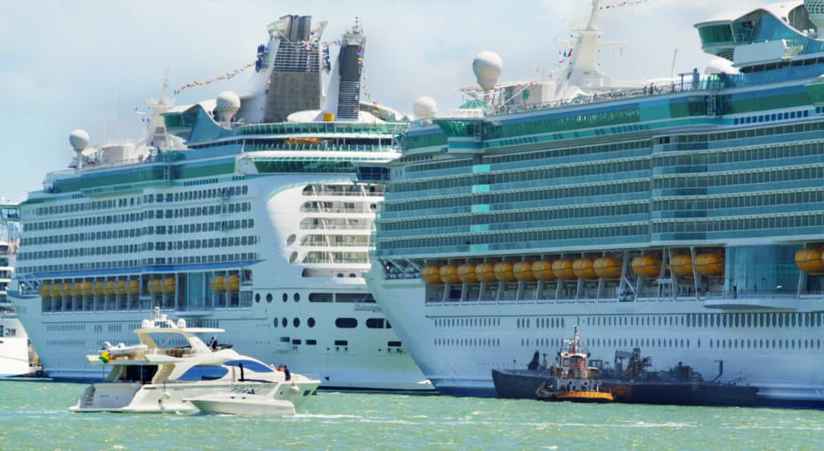 Docked Royal Caribbean Ships
