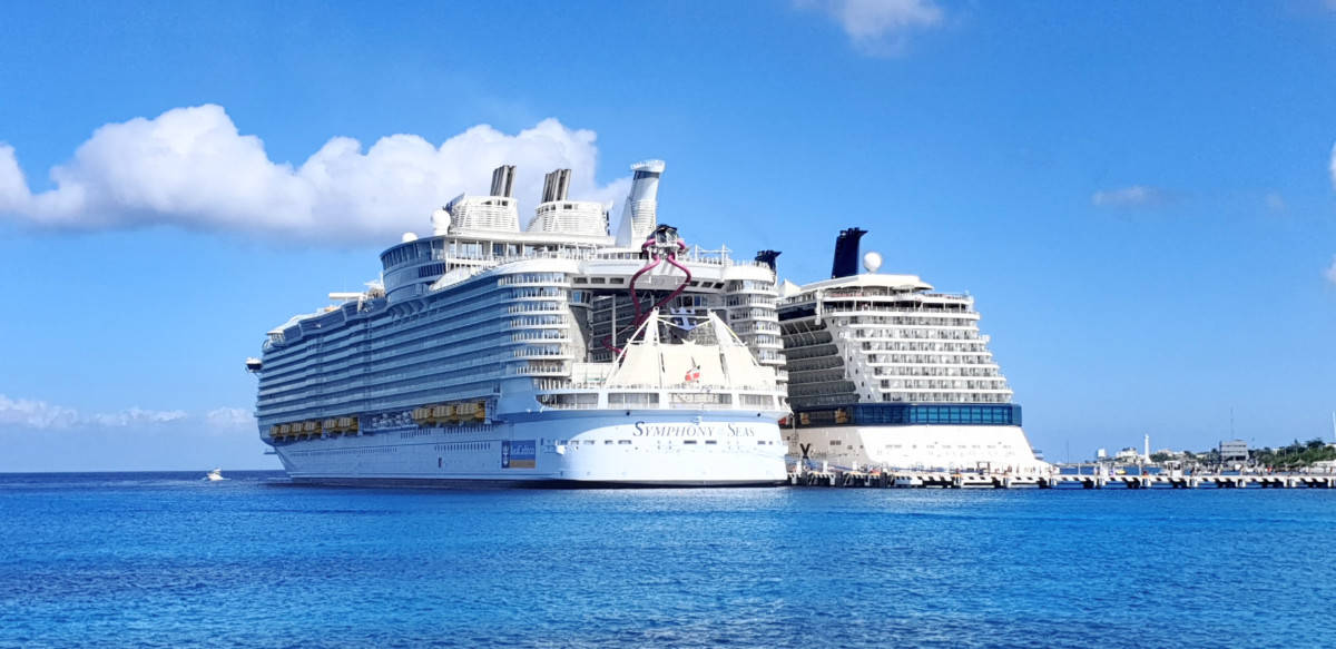 Royal Caribbean and Celebrity Cruise Ship
