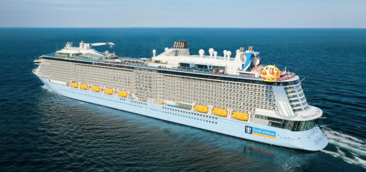 Royal Caribbean's Spectrum of the Seas Cruise Ship