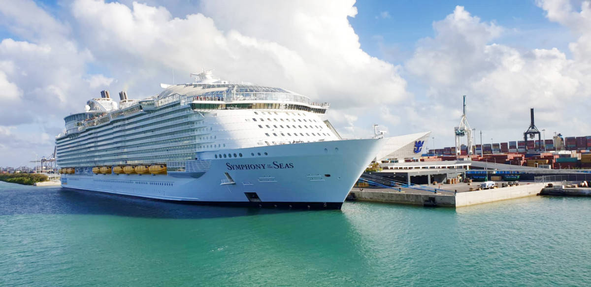 Symphony of the Seas Docked in Miami