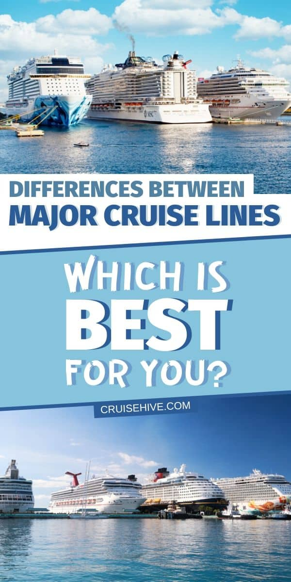 Major Cruise Lines