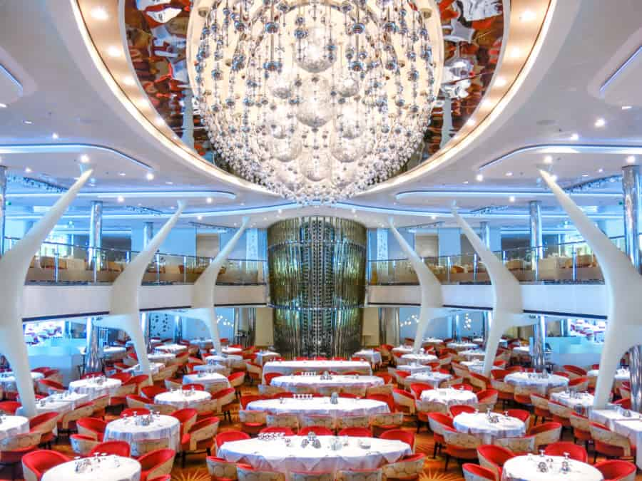 Celebrity Silhouette Cruise Ship Dining Room