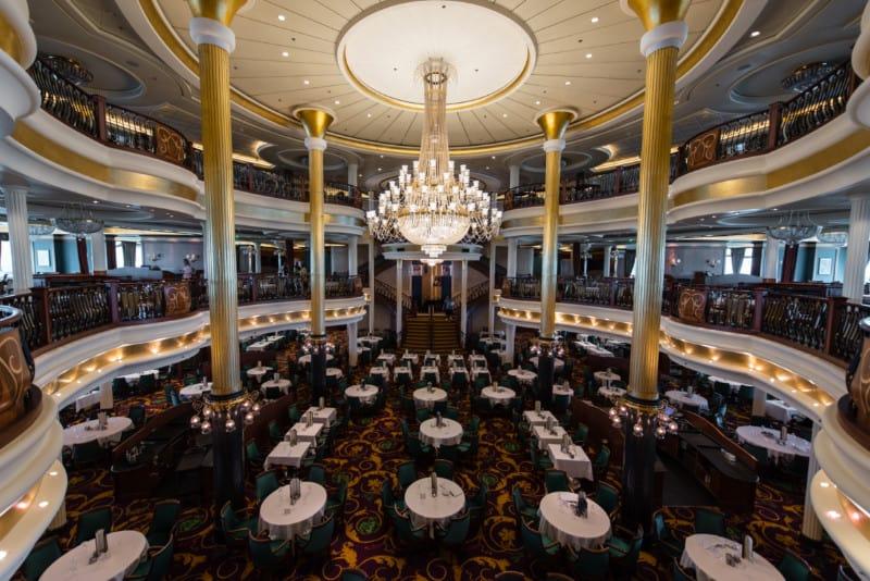 Main Dinning Room on Royal Caribbean's Liberty of the Seas