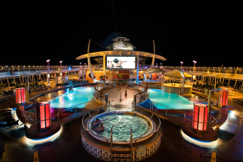 Liberty of the Seas Open Deck
