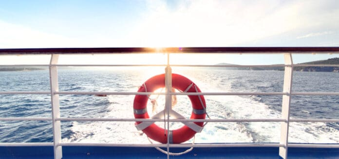 Cruise Ship Life Ring