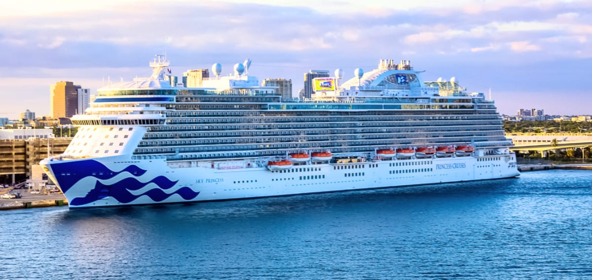 Sky Princess Cruise Ship