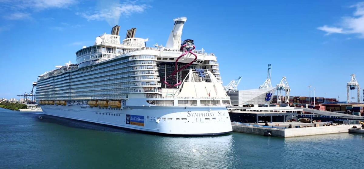 Royal Caribbean's Symphony of the Seas in Miami