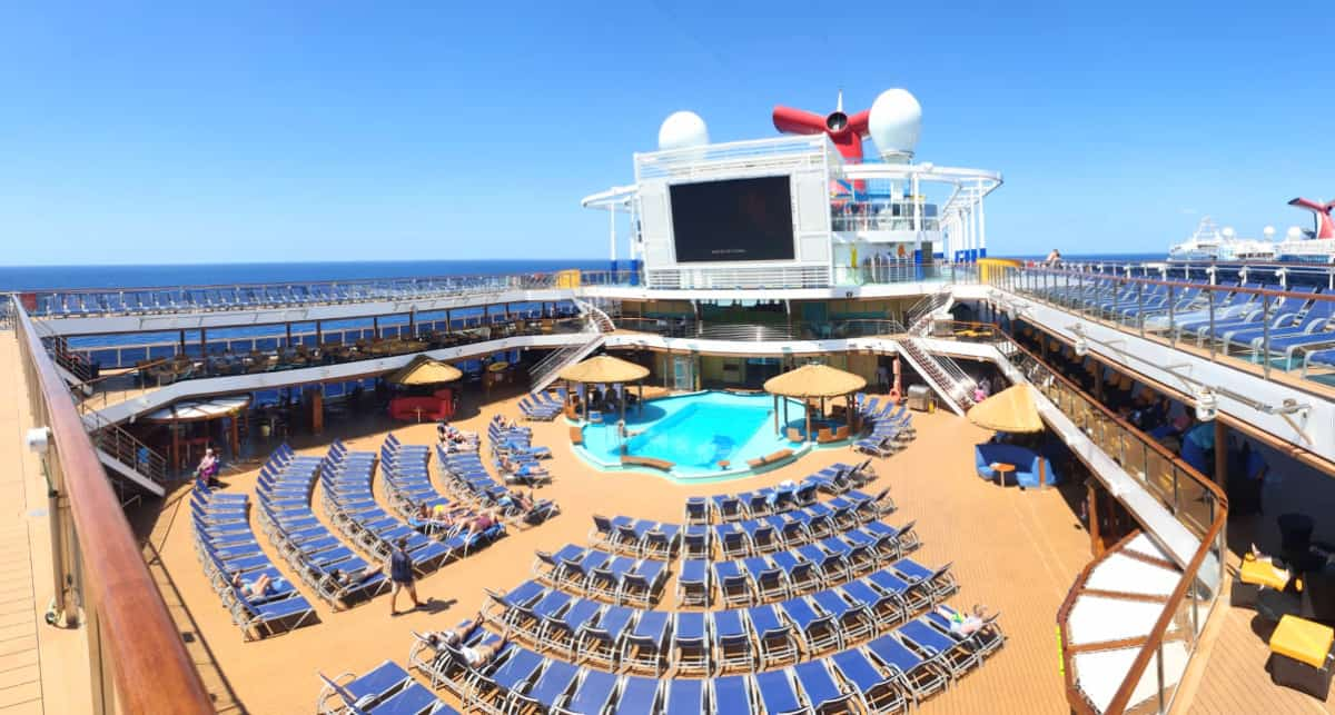 Carnival Cruise Ship Open Deck