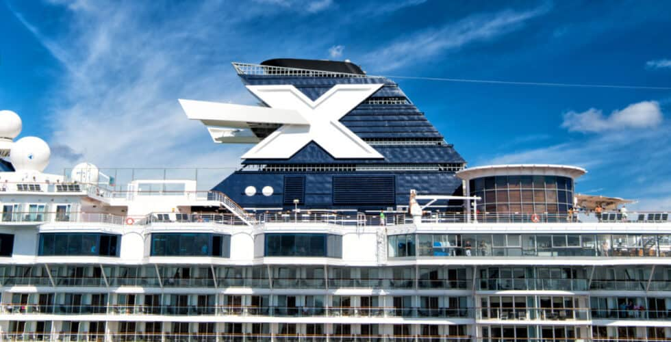 Celebrity Cruise Ship Funnel