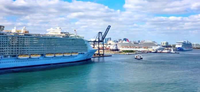 Docked Cruise Ships, Fort Lauderdale