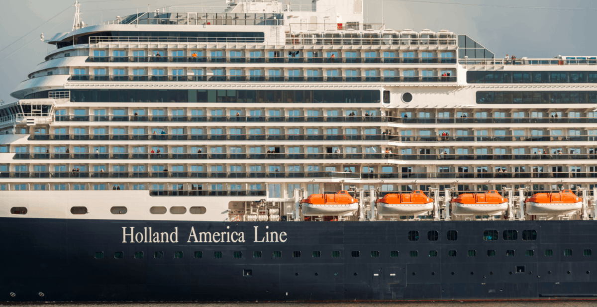 Holland America Line Cruise Ship