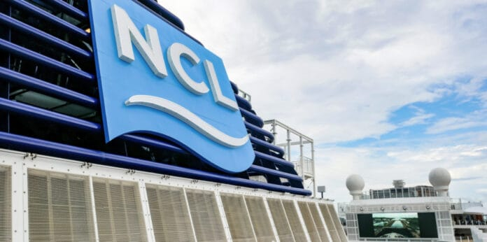 Norwegian Cruise Line Ship Funnel