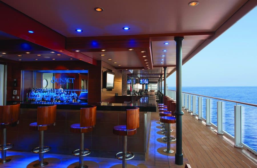 Norwegian Getaway Sunset Bar